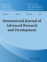International Journal of Advanced Research and Development
