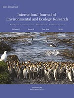 International Journal of Environmental and Ecology Research