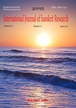 International Journal of Sanskrit Research