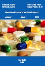 International Journal of Medicine Research