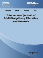 International Journal of Multidisciplinary Education and Research